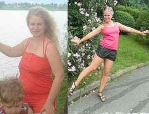 Résultat après avoir perdu du poids en utilisant des régimes à la citrouille