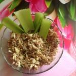 Buckwheat with celery