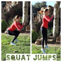 Few squats and jumps a day will help keep your figure in shape