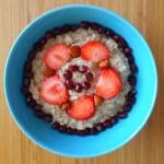 Oatmeal porridge for teens