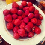 Strawberry can replace candy and help to lose weight fast for teen