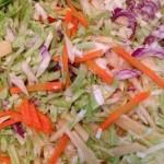 Vegetable salad for teens