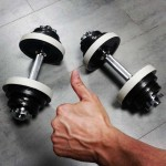 Exercises with dumbbells help you lose weight fast